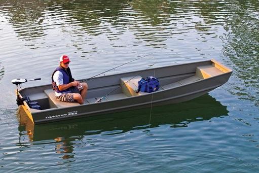 aluminum riveted bass jon boat