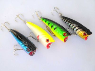 poppers bass fishing lures