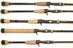 bait casting rods bass fishing rods
