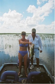 fishing orlando florida at lake toho with female