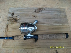bass fishing tackle rod and reel